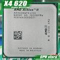 AMD Athlon II X4 620 CPU Процессор Quad-CORE (2.6 ГГц/L2 2 М/95 Вт/2000 ГГц) Socket am3 am2 + бесплатная доставка 938 pin продать X4 630