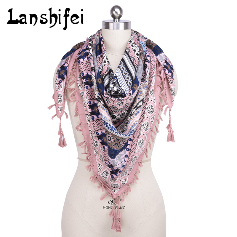 2017 New Hot Sale New Fashion Woman Scarf Square Scarves Tass