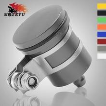 цена на Universal CNC Aluminum Motorcycle Rear Brake Fluid Reservoir Clutch Tank Oil Fluid Cup for YAMAHA MT-10 MT10 MT10 FZ-10 FZ10
