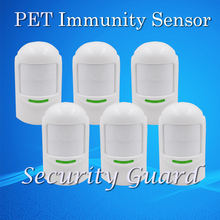 Hot Selling Free Shipping Wholesale Price Wireless Passive 12Kg Pet infrared Detector For Home Burglar Alarm System