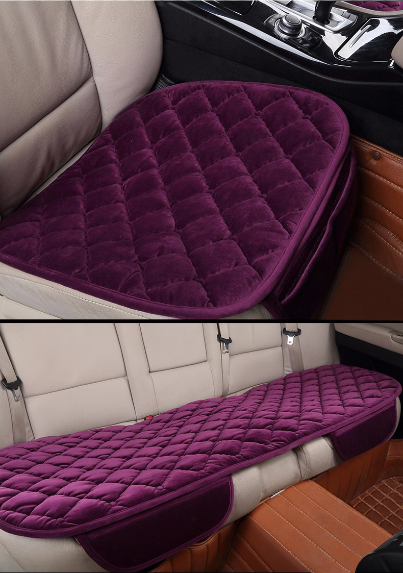 karcle 1 шт. плюшевые чехлы для сидений мотоциклов протектор кресло водителя Подушка автомобиль-стайлинг дышащие летние сиденье подушки авто аксессуары