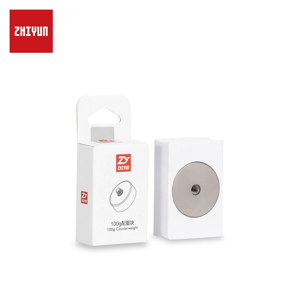 ZHIYUN oficial de 100g extraíble contrapeso para equilibrar la grúa/2/Plus/V2/M del cardán estabilizador