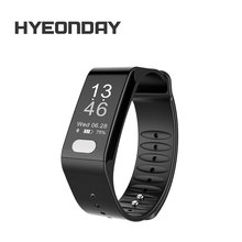 HYEONDAY  Sensible Band  LTWT6 bracelet Step Pedometer Sport Bands Blood Strain EGC Sleep Monitor Band Well being Coronary heart Fee Tracker