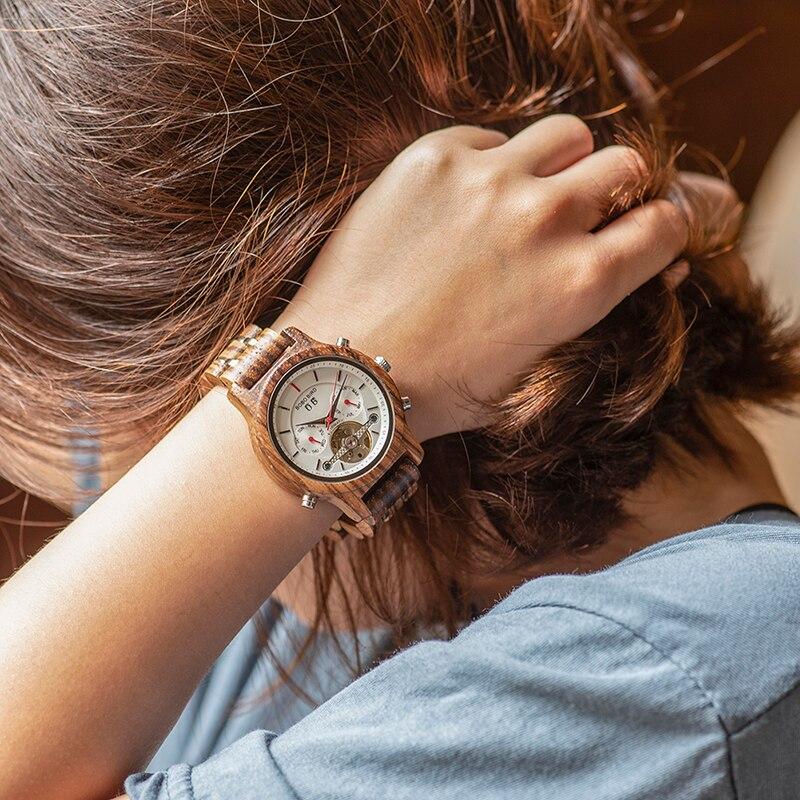 pulso data exibição luxo preto relógios de