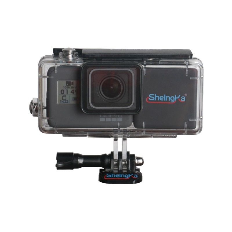 Sheingka Estesa 40 m Subacquea Custodia Impermeabile per GoPro Hero 5 Hero 6 Batteria Bacpac GoPro W/2300 mah batteria