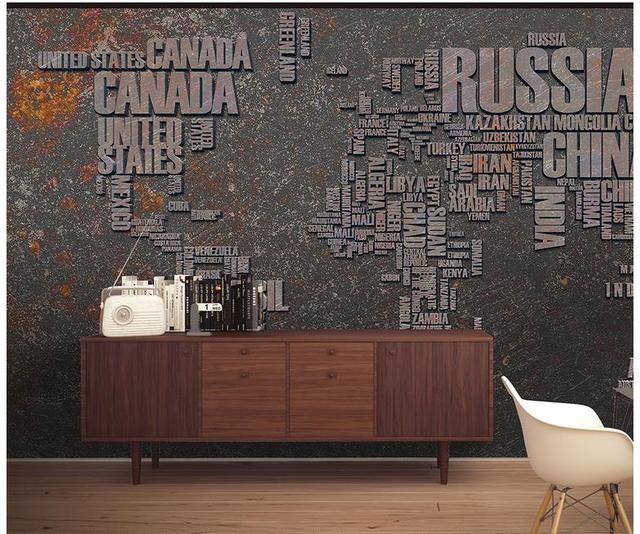 High quality hot sale new custom 3d photo wallpaper murals in europe high quality hot sale new custom 3d photo wallpaper murals in europe and the world map gumiabroncs Image collections