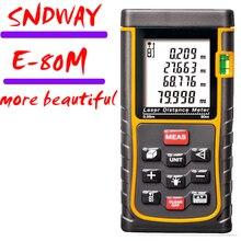 Wholesale prices Handheld electronic ruler ,laser range finder 80m  infrared rangefinder Area / angle / height measurement / tester