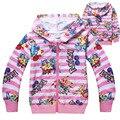 Дети дети мальчик майка малыш девушки Моана пальто одежда с длинным рукавом хлопок полосатый детский свитер POKEMEN идти Футболки