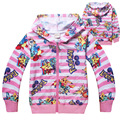 kids children boy t shirt kid girls Moana coat clothing long sleeve cotton striped children's sweater POKEMEN go T-shirts