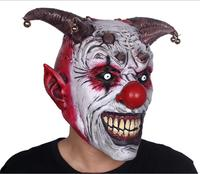 Grudge Ghost Hedging Zombie Mask Realistic Latex Masks Horrible Bell Halloween Scary Clown Mask Long Hair Ghost Scary Mask Props