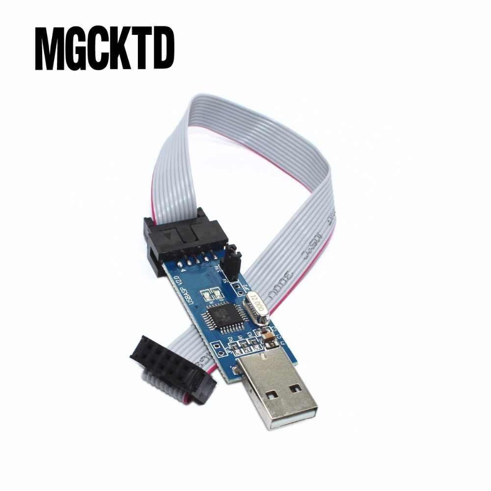 USBASP USB AVR программатор, USB ISP USB ASP ATMEGA8 ATMEGA128 Поддержка Win7 64K