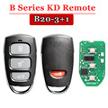 (1 pcs/lot) clé à distance de B20 4button pour keydiy kd machine kd900 urg200 kdbox mini kd|Antivol Alarme| |  -