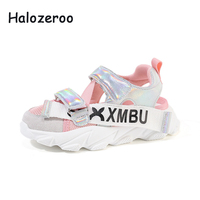 New 2019 Summer Kids Beach Sandals Baby Boys Casual Sandals Children Pu Leather Sport Sandals Girls White Shoes Soft Brand Flats