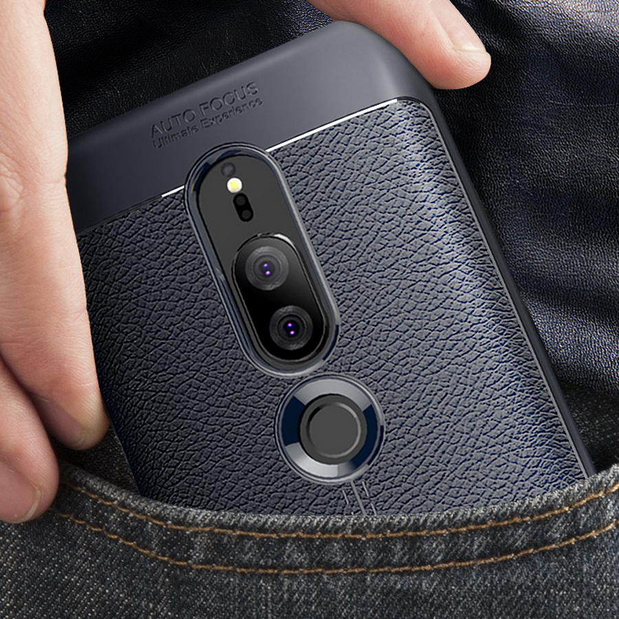 Luxury Soft TPU <font><b>Leather</b></font> <font><b>Case</b></font> For <font><b>Sony</b></font> <font><b>Xperia</b></font> XZ XZS Premium XZ1 XZ2 XZ3 XZ4 Compact XA1 XA2 XA3 Ultra For <font><b>Sony</b></font> <font><b>Xperia</b></font> <font><b>1</b></font> 10 Plus image