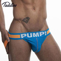 4pcs Men Jockstraps Cotton Sexy Designed Low Waist Men's Jock Straps Bikini Briefs Gay Penis Pouch Male Backless Buttocks String
