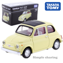 Baby Toys Scale Car-Model-Kit Diecast Classic Beetle Tomica Premium No.-29-Fiat Metal
