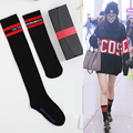 2016 Autumn and Winter New Two Size Ladies Cotton Socks Stripe Letters Printing Socks AXD9079
