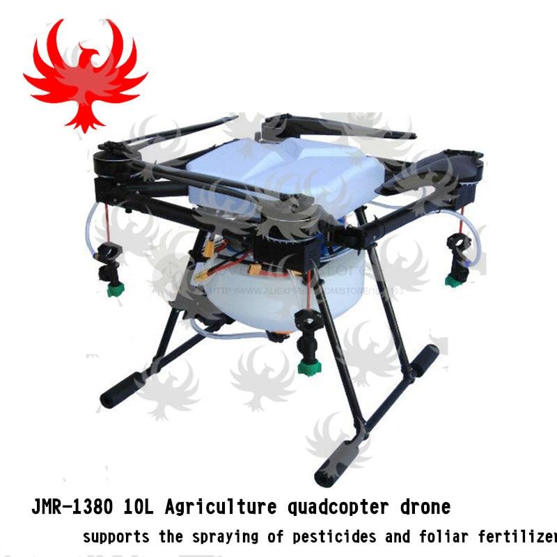 Full Set Jmr X1380 10l Agricultural Spray Quadcopter Uav