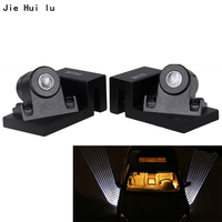 2 Pcs For All Car Welcome Lights Angel Wings Spotlight Universal Fit Car Door Projector Light