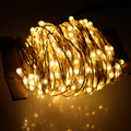 130Ft 40M Gorgeous Led String Lights 400LEDs Silver Wire Starry String Lights For Christmas Parties Outdoor Decoration Lamps