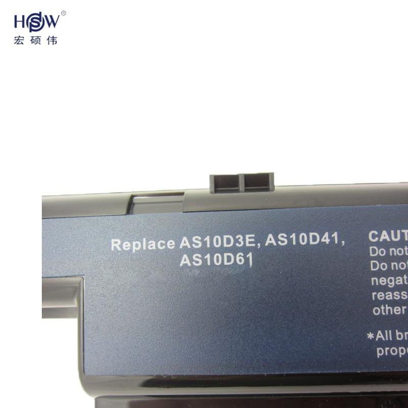 HSW laptop batteri för ACER AS10D31 AS10D51 AS10D81 AS10D75 AS10D61 - Laptop-tillbehör - Foto 3