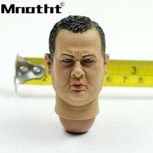 1 6 escala graso masculina cabeza Sculpt TC37-08 policía de Nueva York que  talla los juguetes modelo para 12 pulgadas figura de . f6c53b66fdb3