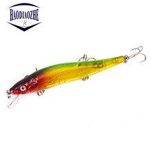 Купить с кэшбэком Minnow Fishing Lures 11.5cm 13.2g Hard Baits Floating Crankbait Wobblers Peche Bass Artificial Baits Pike Carp Lures Swimbait