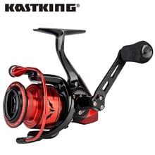 Мощная спиннинговая катушка KastKing Speed Demon, макс. нагрузка 11,34 кг, высокоскоростная Рыболовная катушка 7,2: 1 с карбоновой ручкой