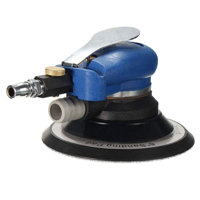 Оптовая цена дюймов 6 дюймов случайный орбитальный воздух для пальмовой шлифовальной машины и автомобиля полировщик пылесос набор инструм...
