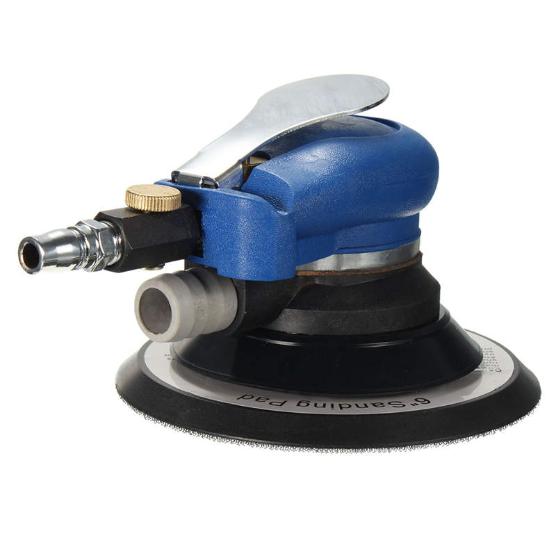 Wholesale Price 6 Inch Random Orbital Air For Palm Sander & Car polisher Vacuum Cleaner Set Tool 6inch 6 inch air sander random orbital