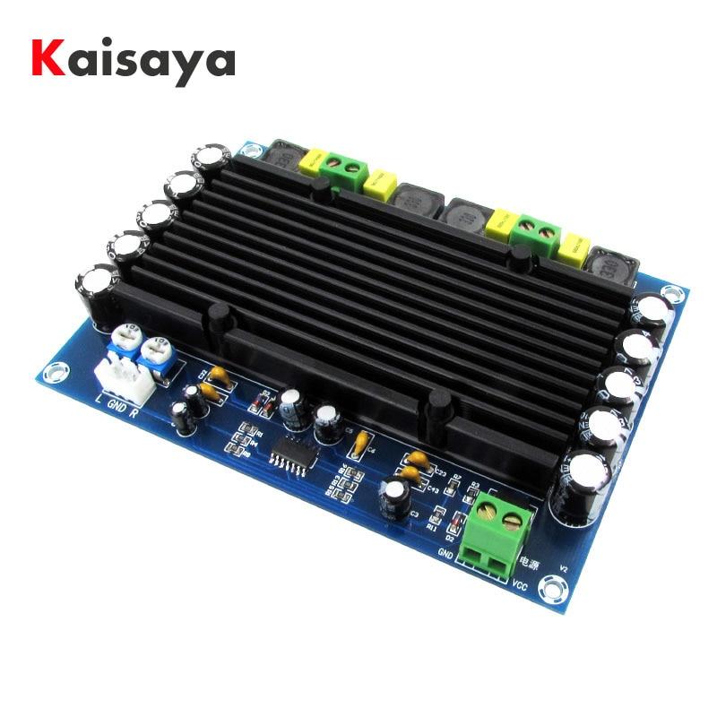 XH M546 Preset pre stage TPA3116D2 dual channel 150W x 2 built in sound ultra high power digital amplifier board D2 002amplifier boarddigital amplifier boarddigital amplifier -