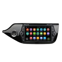 8 Inch Android 4 4 4 Dual Quad Core Car DVD Player GPS For KIA For