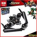 Лепин 07019 Совместимость Legoes Super Heroes Супермен Sky High Битва 76046 Строительные Блоки Модель Игрушки Для Детей