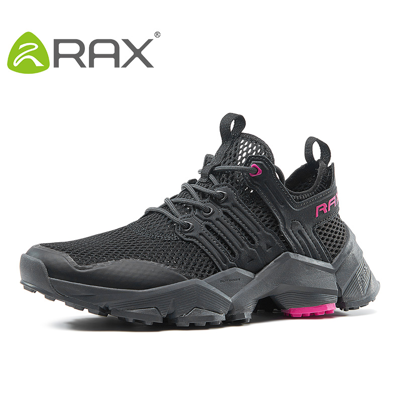 Rax Hiking Shoes Women Summer Big Size Breathable Ligjtweight Women Jogging Shoes Outdoor Sports Sneakers Female