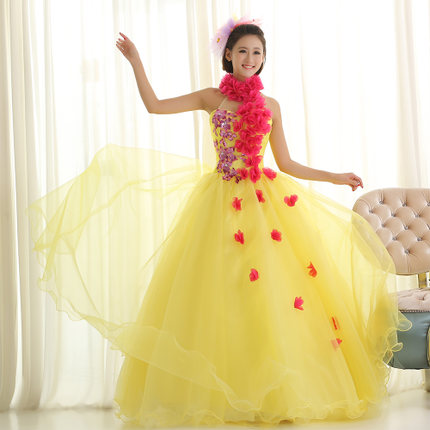 Free ship full flowers wreath hater hawaii ball gown queen medieval dress Renaissance gown Si princess Victoria Belle Ball