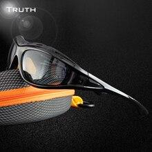 WAHRHEIT Männer sportbrillen Polarisierte Anti-Glare objektiv TR90 gläser für mann sport staubdicht strahl männer google brillen oculos