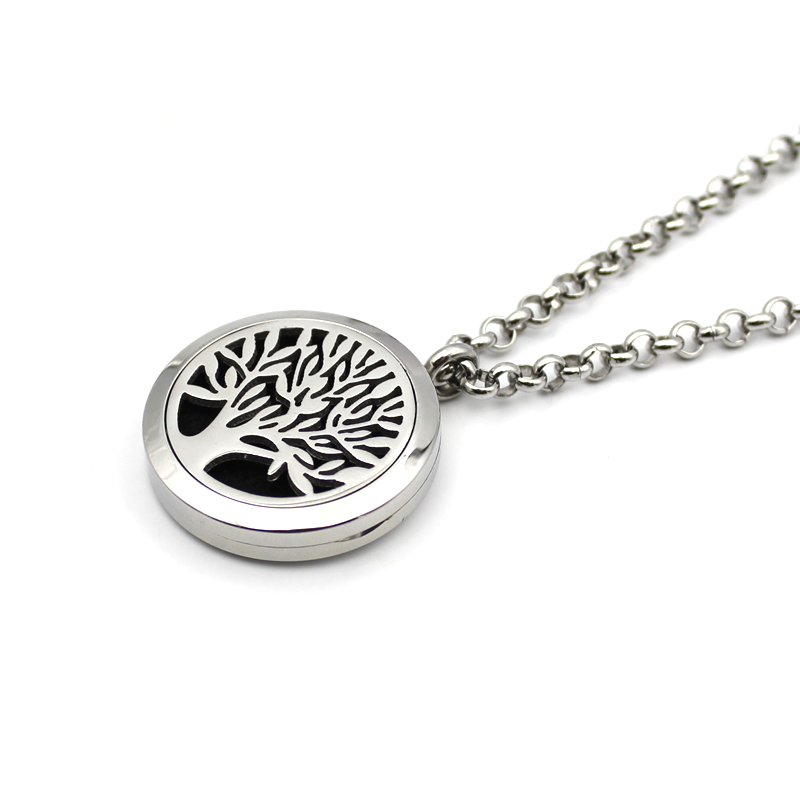 10 pcs wholesale tree design perfume diffuser locket