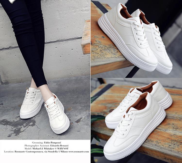 zapatos de plataforma de las mujeres