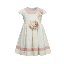 Brand Toddler Girl Floral Dress for Children Baby Girls Princess Flower Dresses Kids Wedding Evening Xmas Formal Party Clothing 2018 brand new toddler infant kids child party wedding formal dresses rose girl princess dress flower chiffon sundress kids 2 8t