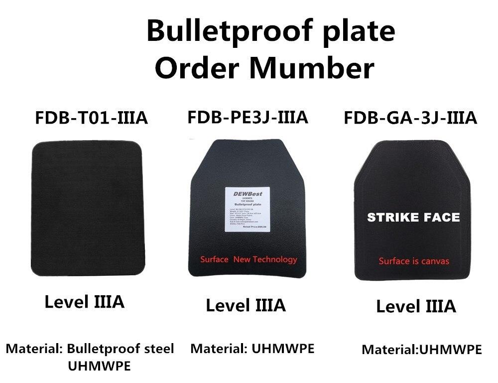 Bulletproof plates 201902128