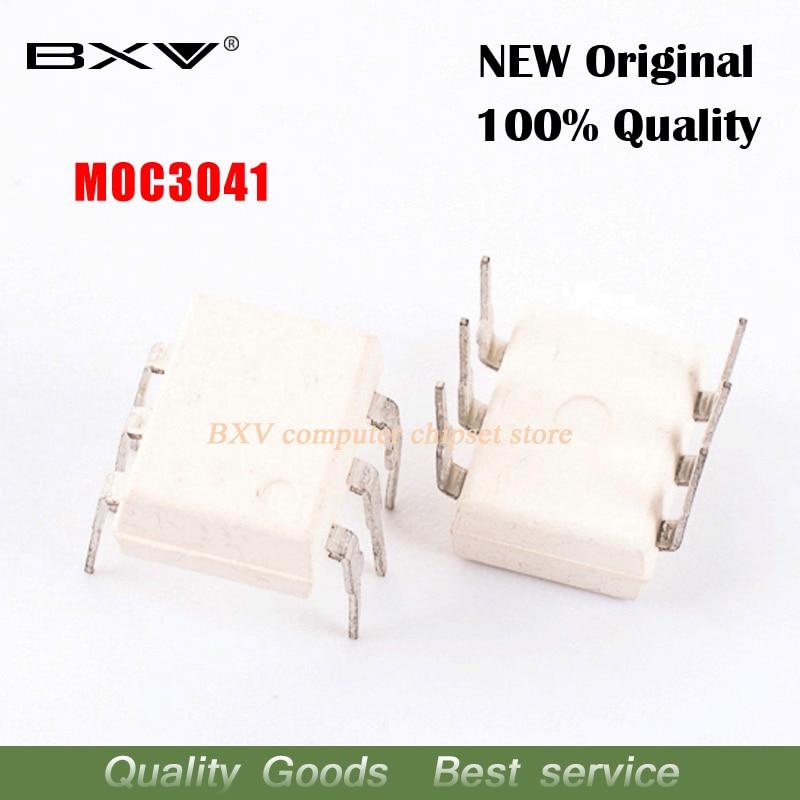 10pcs/lot MOC3041 DIP-6 MOC3041M