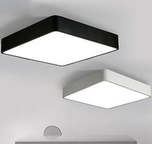 Fashion creative bedroom ceiling lamps lights square kids light flush mount led lamp lamparas de techo colgante