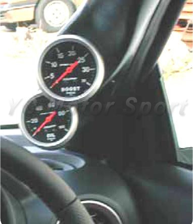 Car Accessories FRP Fiber Glass Gauge Pod Fit For 1995-1998 S14 Zenki S14A Kouki RHD A Pillar Twin Gauge Pod