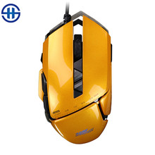 Jamesdonkey 325 Optical USB 7 button 3000DIP Gaming mouse led  Metal Programming game intellimouse For  desktop gamer CS LOL