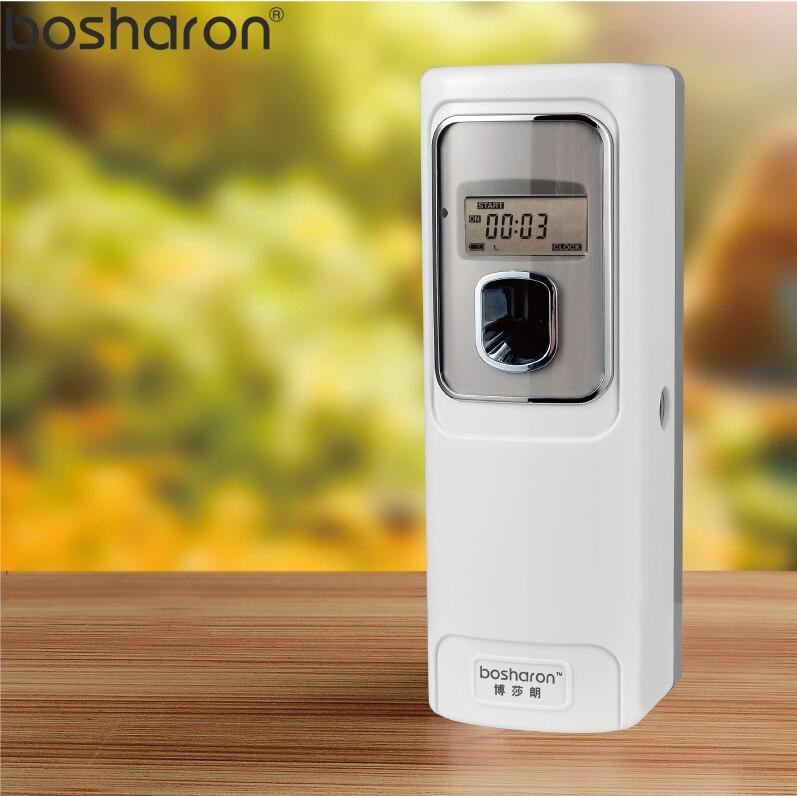 LCD Automatische Aerosol Dispenser Lufterfrischer Wand Montiert Für Home Hotel Bad Wc Duft Parfüm Sprayer Maschine