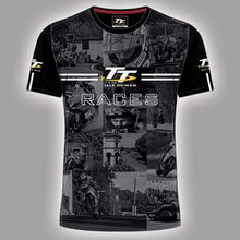 ff9e8392a97d NEW Motorcycle Isle of Man TT T-shirts races custom printed MOTOGP  Superbike World Championship T shirt Cafe Racer Moto T-shirtK