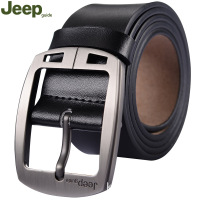 Sell Popular Brand Vintage Cow Leather Men S Waist Belt Jeepguide Genuine Leather Belts Black Brown