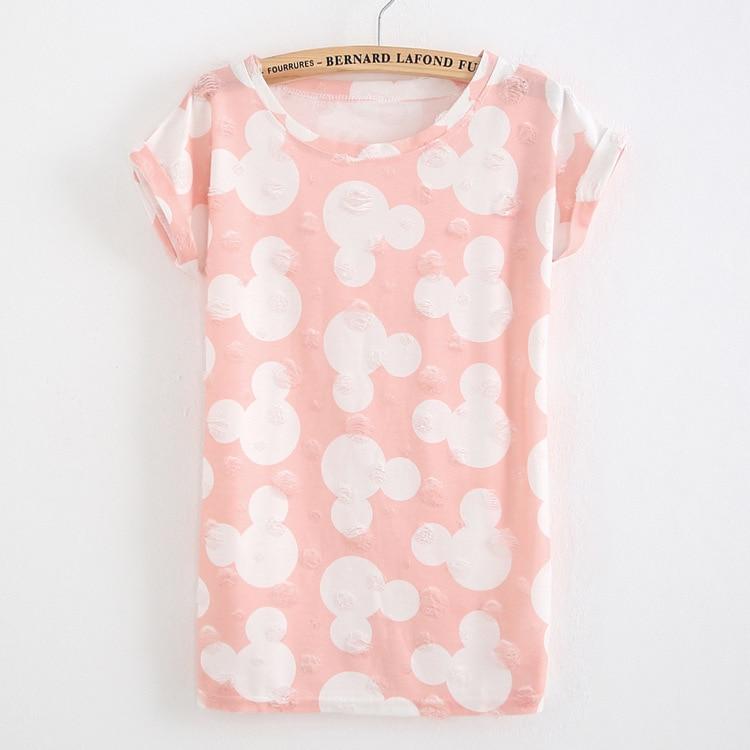 HTB1IT.TPFXXXXa0XFXXq6xXFXXXG - T shirt Ladies short sleeve star print vintage casual T-shirt