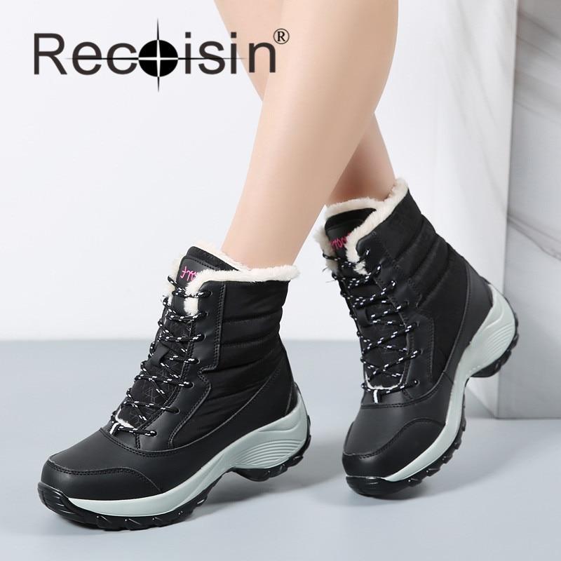 Creative Snow Boots Women Waterproof - Boot Ri