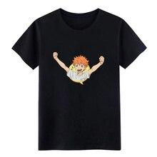 Haikyuu Celebrate t shirt designer tee Round Collar male Loose Funny summer Vintage